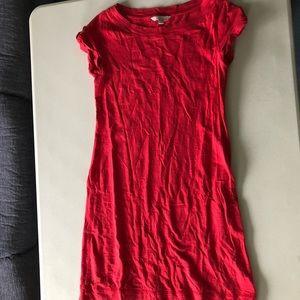 Banana Republic T-Shirt Dress - Red - Size S